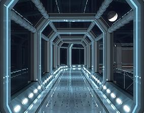 3D model Modular Corridor V2