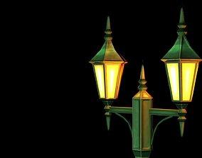 3D model Lamp post game object