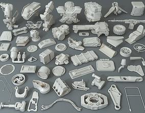 Kit bash - 57 pieces - collection-31 3D