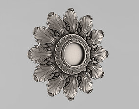 Decor Rosettes 3D print model corbel