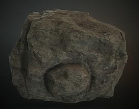 3D asset Boulder 06 4K PBR