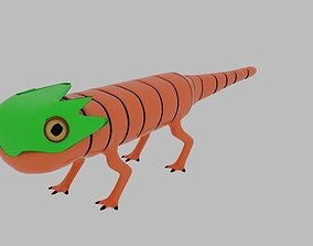 3D model Pit Lizard Character