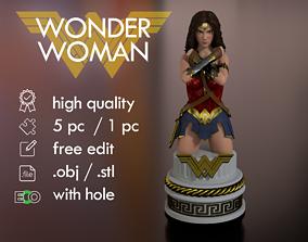 Wonder Woman Bust Torso Half body 3D print model