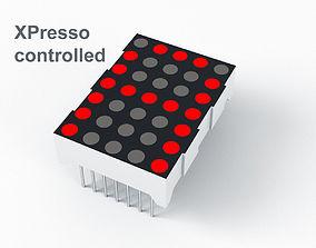3D model LED Dot Matrix Display - XPresso
