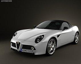 Alfa-Romeo 8c Spider 2011 3D model