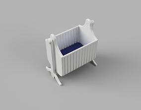 3D print model Baby Crib or Cradle