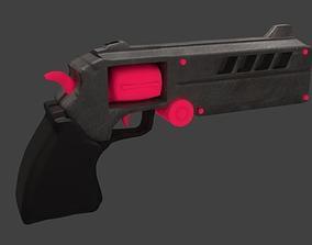 Futuristic Revolver N-1 Prototype 3D model
