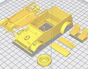 Kubelwagen Printable Car