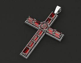Cross of Baguette 3D print model