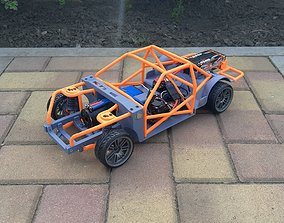 1-10 RC Drift Chassis 3D print model