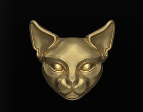 3D print model Bead cat