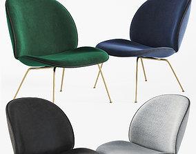 3D Beetle Lounge Chair Gubi