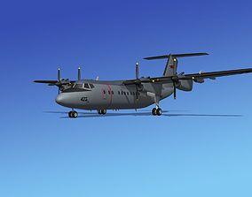 3D Dehavilland DHC-7 Canadian Navy