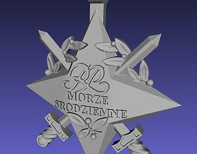 Official mediterranean sea polish star 3D printable model