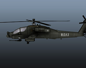 Apache 3D asset
