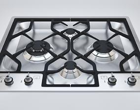 3D model Kitchen Gas Stove