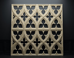 Paneling belonging to Carlisle Cathedral 1842 V1 3D