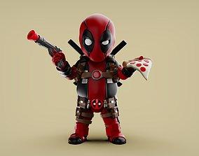 Chubby Deadpool 3D print model
