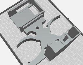 RPI3 Cyber Technology Binocular Mount 3D printable model