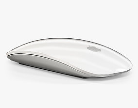 Apple Magic Mouse 3D asset