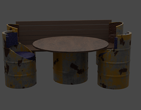 3D PBR Coffee table