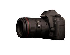 Canon 5d camera 3D asset VR / AR ready