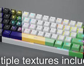 Compact Mechanical Keyboard 3D