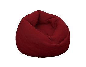 luxury Bean Bag 3D