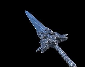 3D asset realtime Fantazy Sword