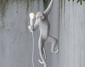 3D Hanging Monkey wall lamp