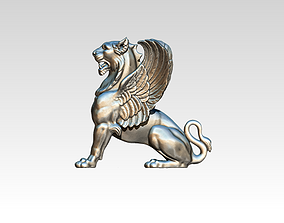 3D print model Gryphon Griffin Griffon gryphos highpoly 1