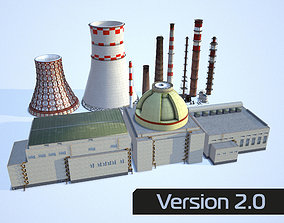 3D asset Industrial collection