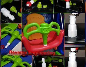 3D printable model Children Swing support arm thread for 2