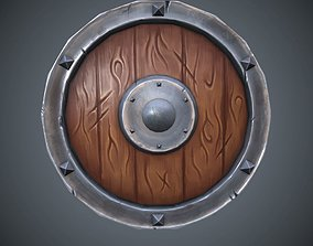 rts 3D asset low-poly Shield