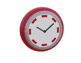 3D model Diner Clock
