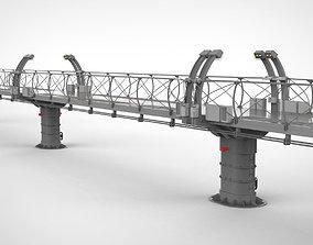 3D sci-fi bridge 1