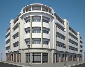 3D Apartment Building 11
