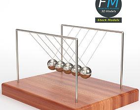 3D Newton cradle 2