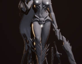 Sebitti Warrior Nude 3D print model