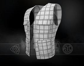 Casual Vest Style 4 3D asset