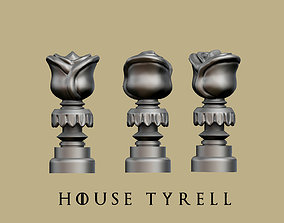 Game of thrones - House Tyrell marker 3D printable model