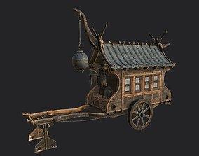 Japanese Ramen-Food Cart PBR Low-Poly 3D model