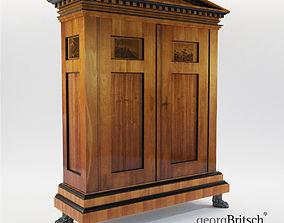 3D Biedermeier cupboard from Johann Georg Hiltl - Georg