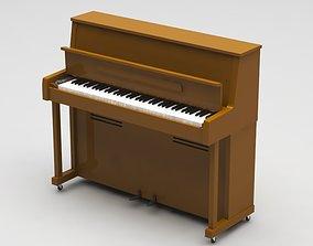 audio 3D model piano
