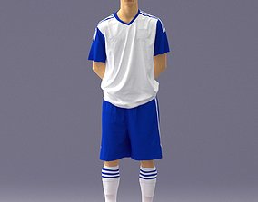 Soccer player 1114-3 3D model