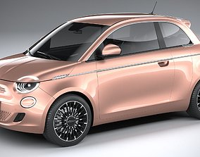 3D model Fiat 500 3-1 2021
