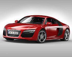 3D Audi R8 V10 Coupe 2013