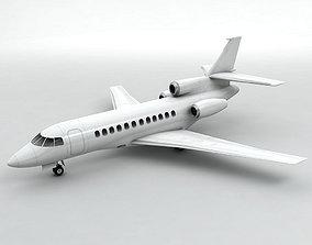 3D model Dassault Falcon 900EX