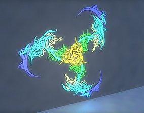 3D model design Wall light