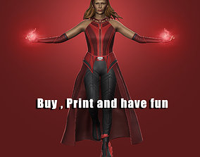 3D printable model Scarlet witch collectibles scarletwitch